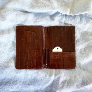 Other - Eel skin business wallet